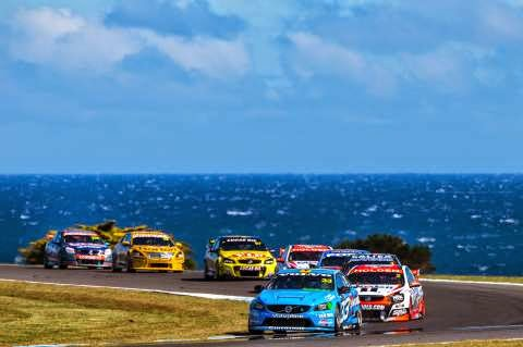 Volvo S60 Polestar leads the pack at Phillip Island