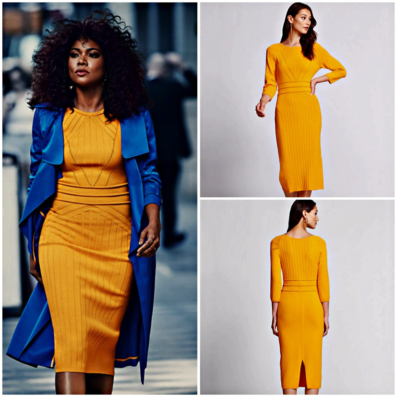 Click here to buy GABRIELLE UNION COLLECTION - STITCHED SWEATER DRESS, which is now on sale!