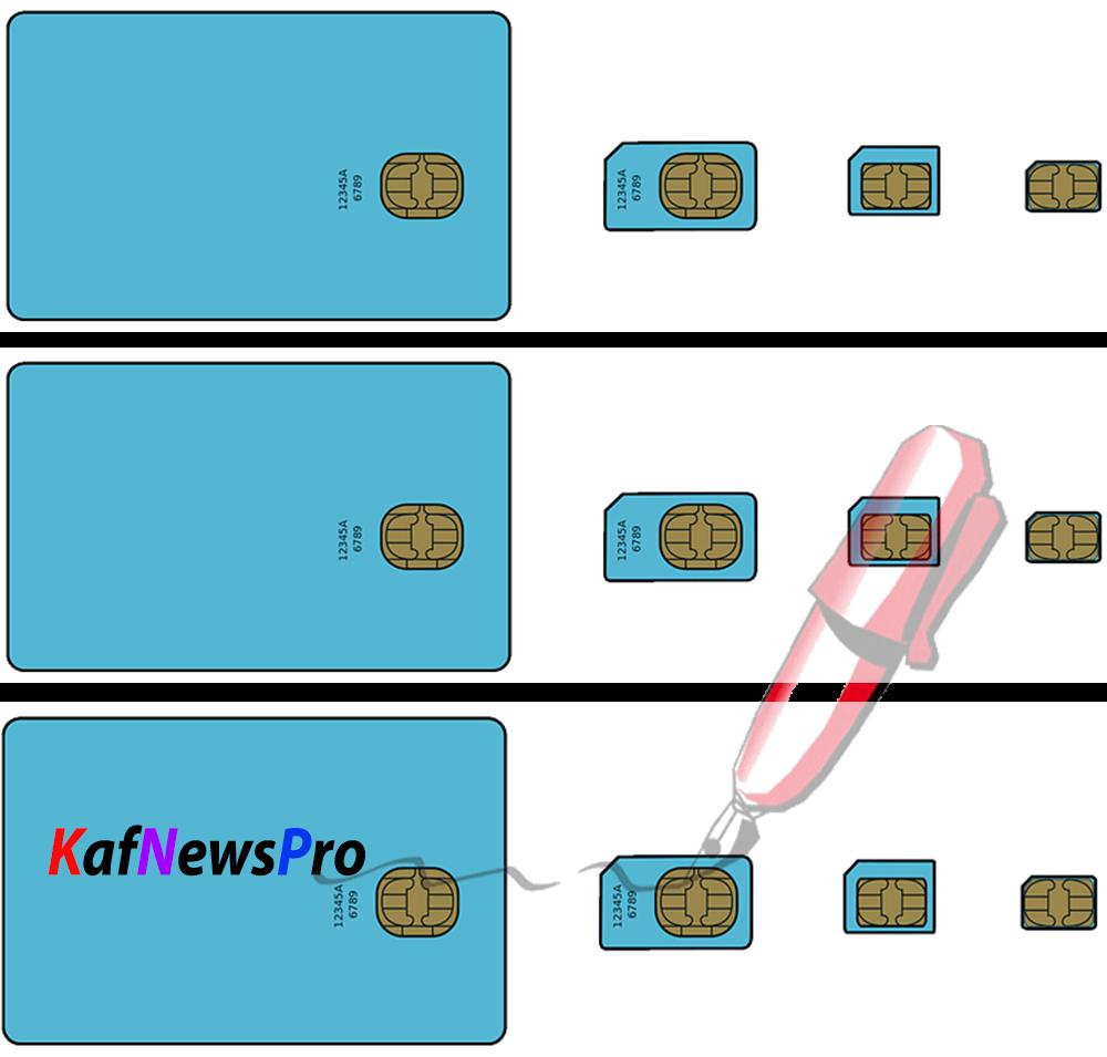 découper carte sim en magasin Voici comment découper sa carte micro SIM pour la transformer en