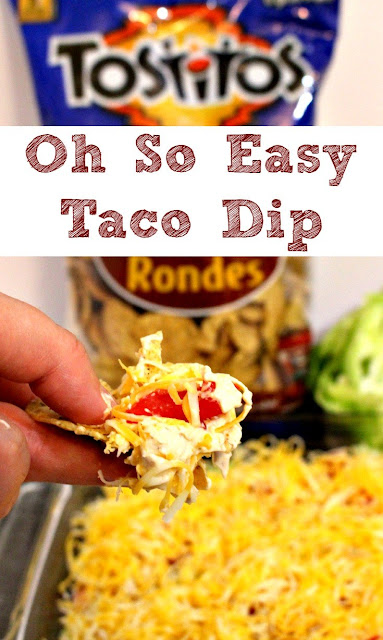 So Easy Taco Dip Recipe
