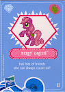 My Little Pony Wave 4 Berry Green Blind Bag Card