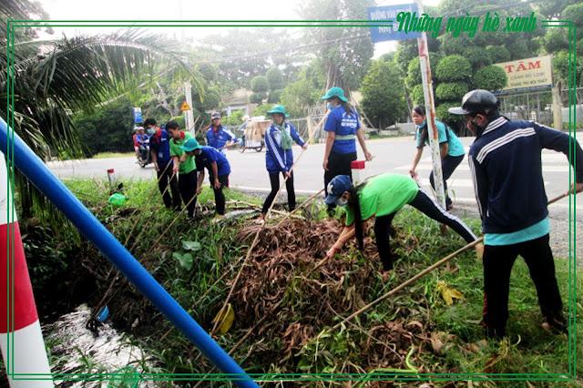 Chung sức bảo vệ môi trường cùng địa phương
