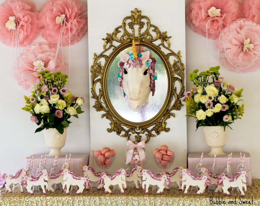 Bubble and Sweet: Sophie's 7th Birthday Unicorn Party - I