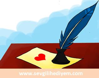 Sevgiliye sürpriz mektup yazmak