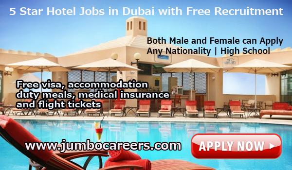 Luxury hotel jobs in Dubai, Recent hotel jobs in Dubai,