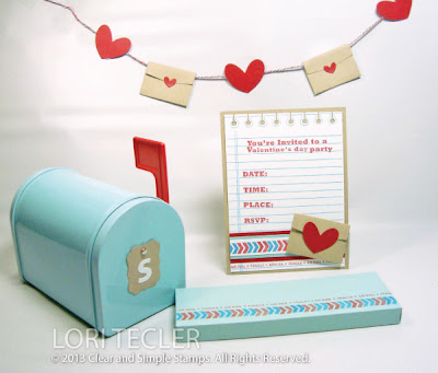 You've Got Mail-designed by Lori Tecler-Inking Aloud-stamps and dies from Clear and Simple Stamps
