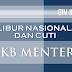 SKB Menteri Tentang Hari Libur Nasional dan Cuti Bersama Tahun 2015