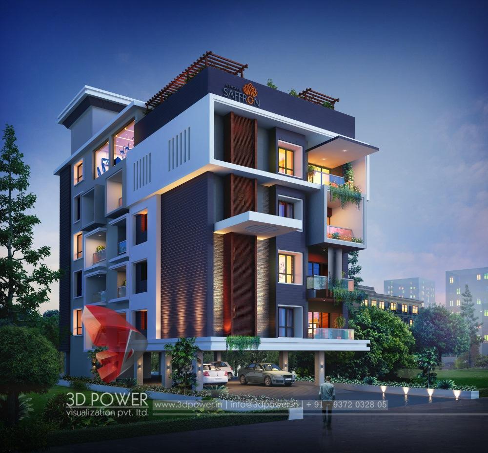 Apartment View: 3d Animation, 3d Rendering, 3d Walkthrough, 3d Interior
