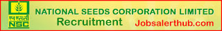 National Seeds Corporation Ltd Recruitment