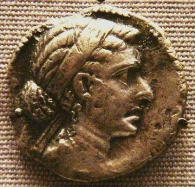 Coin issued by Cleopatra