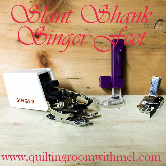 singer slant shank
