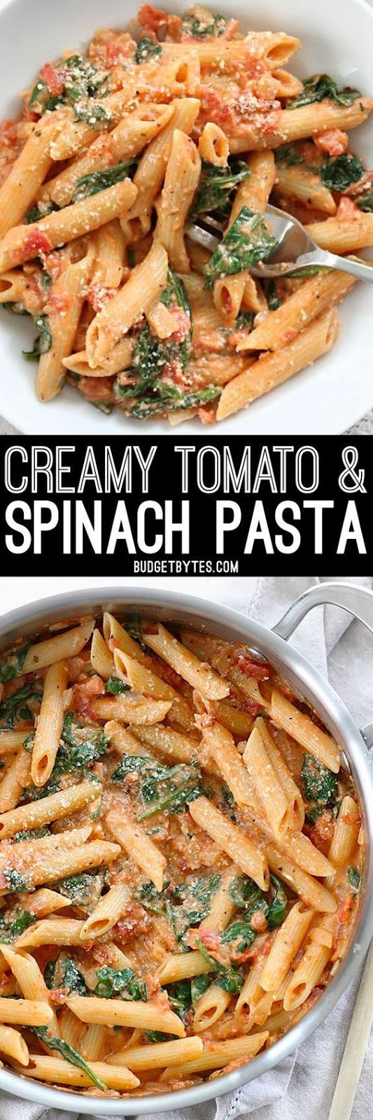★★★★☆ 7561 ratings | CREAMY TOMATO AND SPINACH PASTA #HEALTHYFOOD #EASYRECIPES #DINNER #LAUCH #DELICIOUS #EASY #HOLIDAYS #RECIPE #CREAMY #TOMATO #SPINACH #PASTA