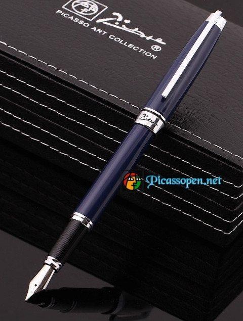 Bút máy Picasso 912 màu xanh
