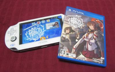 PS Vita「艦これ改」買って来たよ!