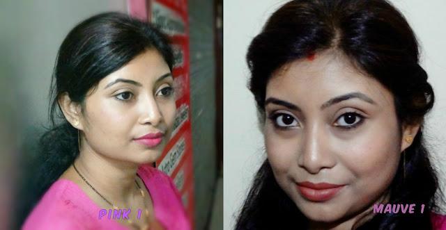 Maybelline lip gradation Pink1 Mauve 1