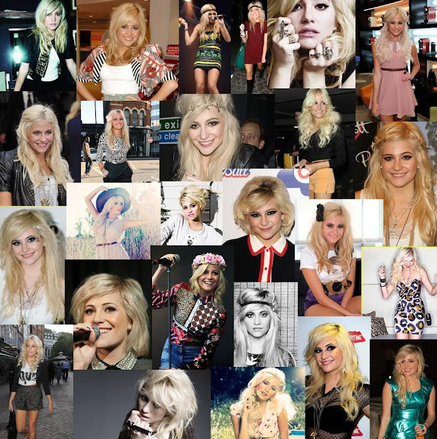 Pixie Lott Collage