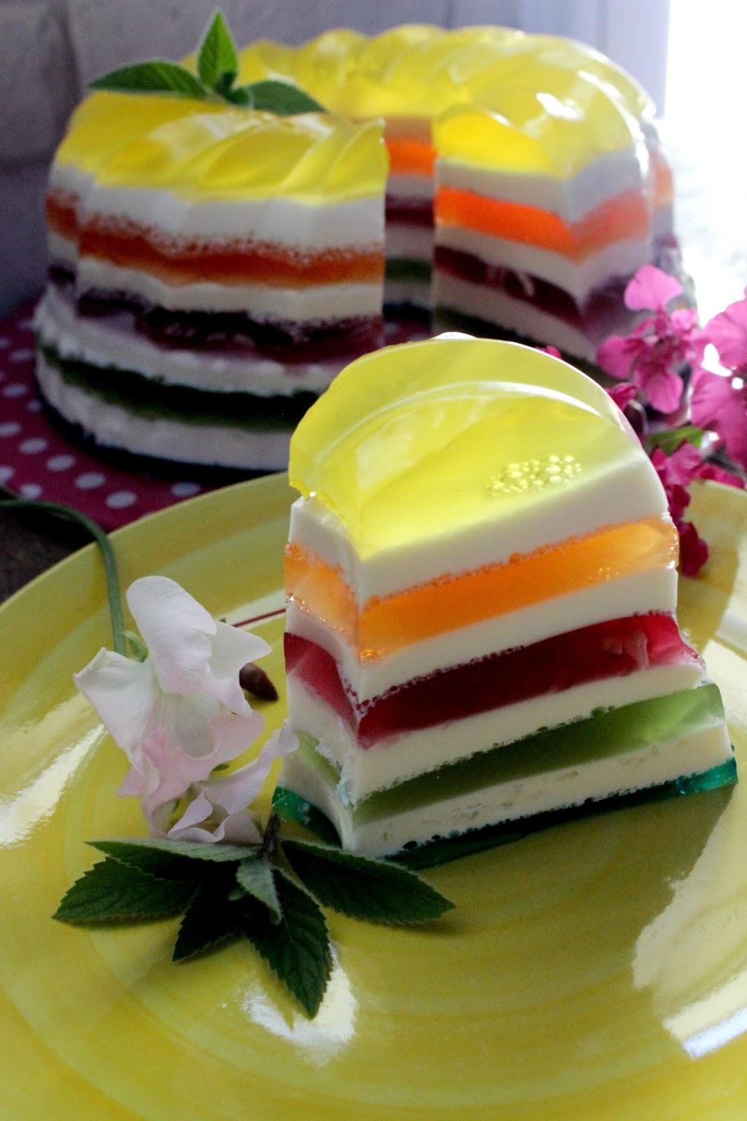 Galaretkowa Kolorowa Zebra Cakes By Kejt