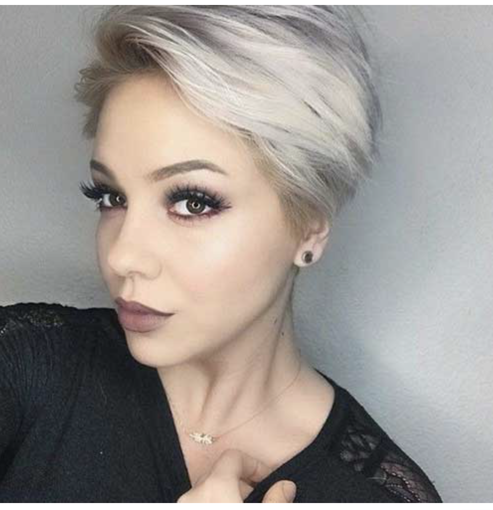 Hairstyles For Woman: 2019 Trend Short Haircuts For Fine Hair