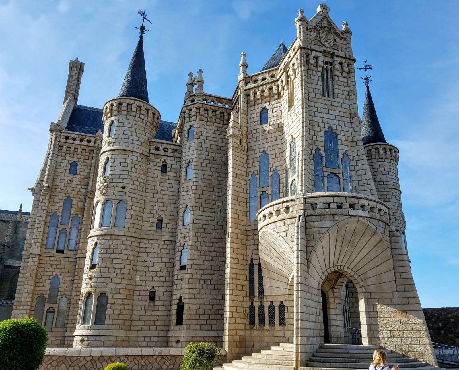 Gaudi's fairy-tale whimsical Bishop's Palace in Astorga features the Museum of the Ways dedicated to the pilgrims of the Camino de Santiago.