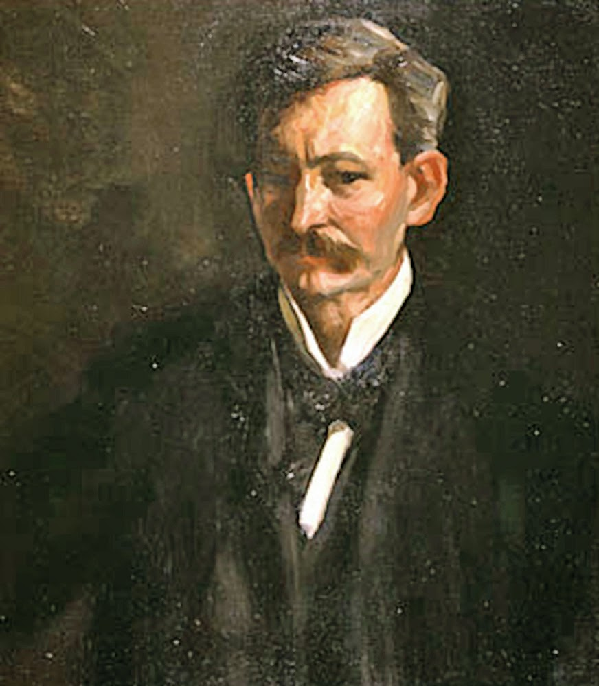 Robert Henri, Self Portrait, Portraits of Painters, Fine arts, Painter Robert Henri