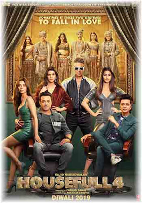 Housefull 4 (2019) HDRip Hindi Movie Poster