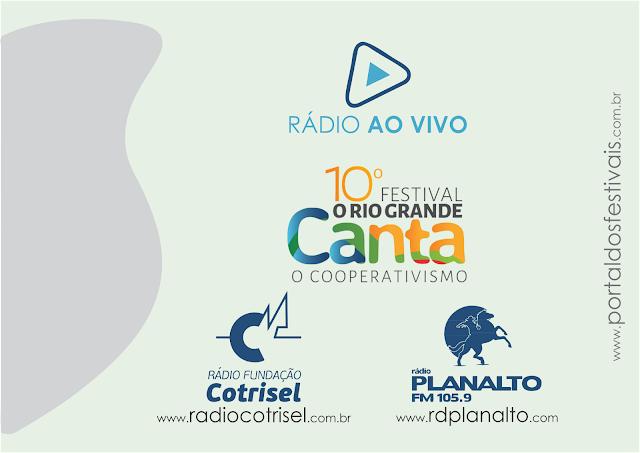 Acompanhe a final do Festival O Rio Grande Canta o Cooperativismo ao Vivo