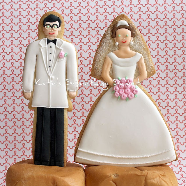 wedding cake toppers vancouver bc s something sweet custom cake topper cookies 26621
