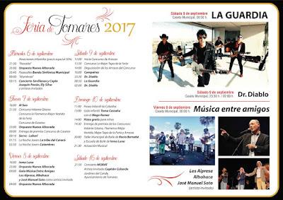 PROGRAMA DE FERIA 2017 - TOMARES