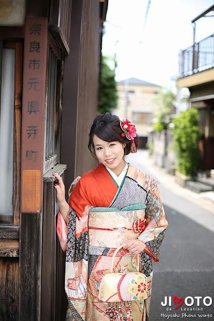 奈良で成人式の前撮り撮影