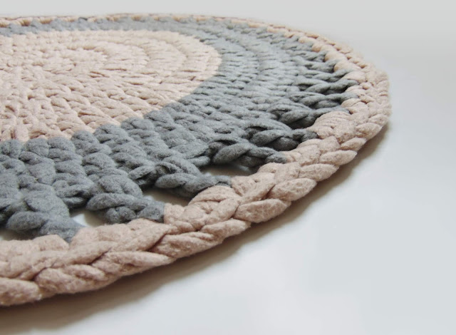 jak zrobić dywanik na szydełku