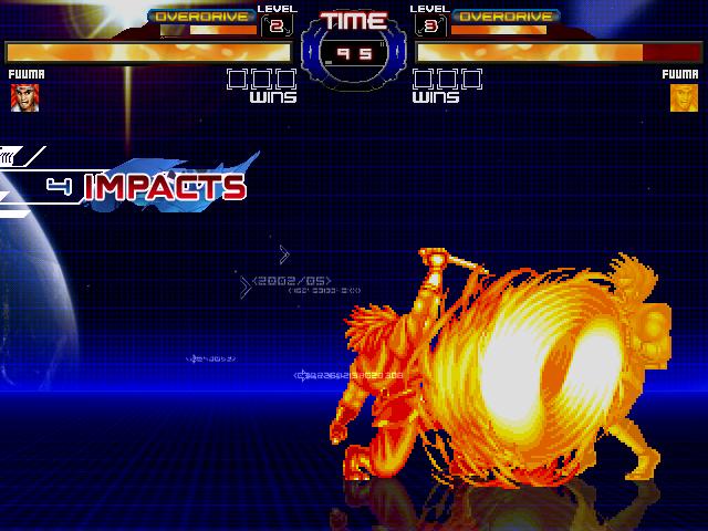 SNK MUGEN Database: Fuuma Kotaro (World Heroes) by Mouser