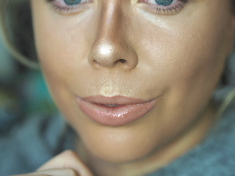 highlight and contour your nose