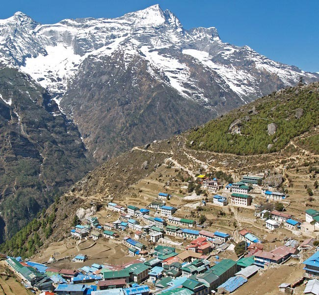 Xvlor Khumbu is Everest Region and Sherpa villages in Himalayan valley