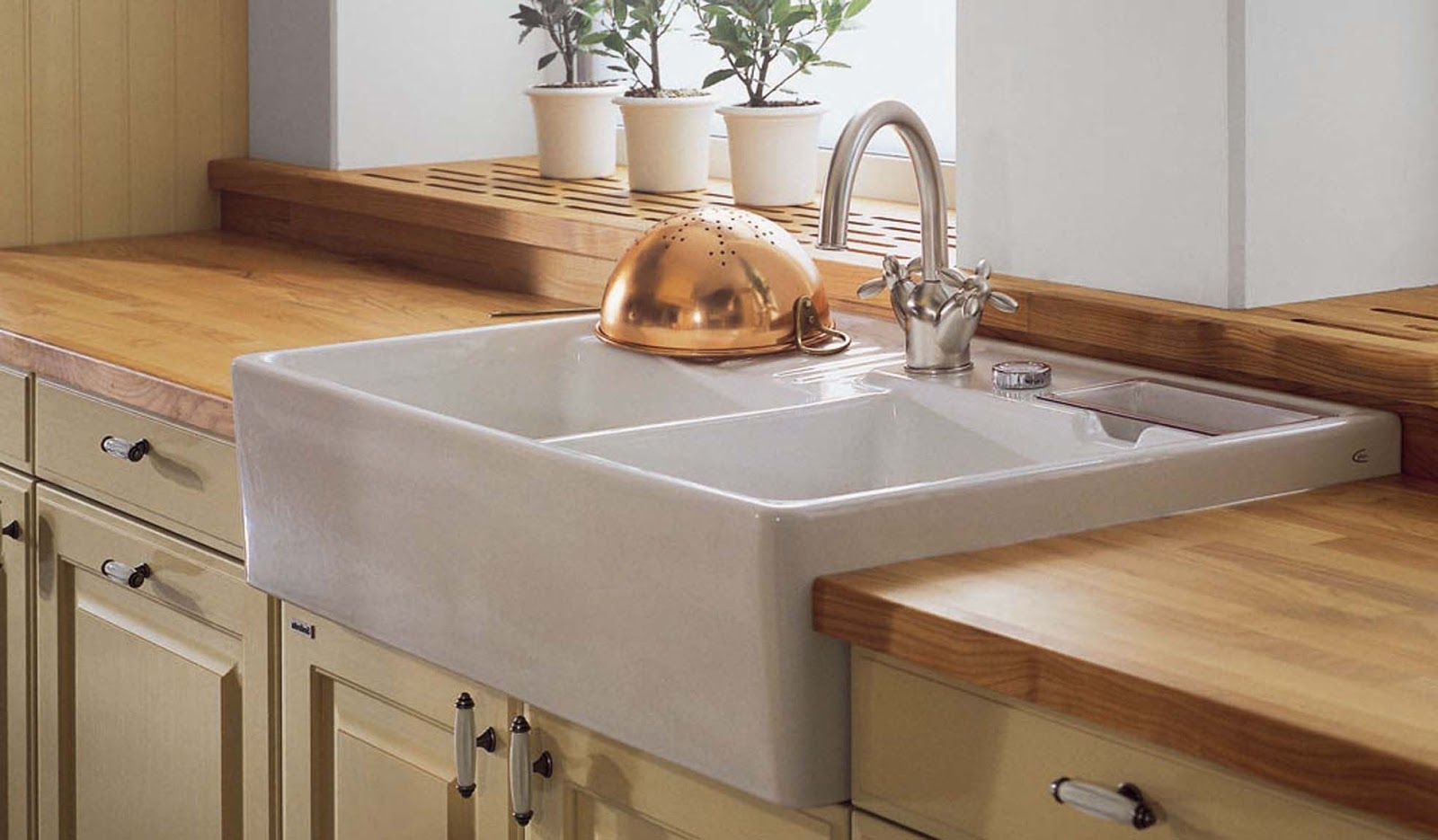 Como elegir el fregadero ideal para mi cocina diariodeco - Fregaderos de granito para cocina ...
