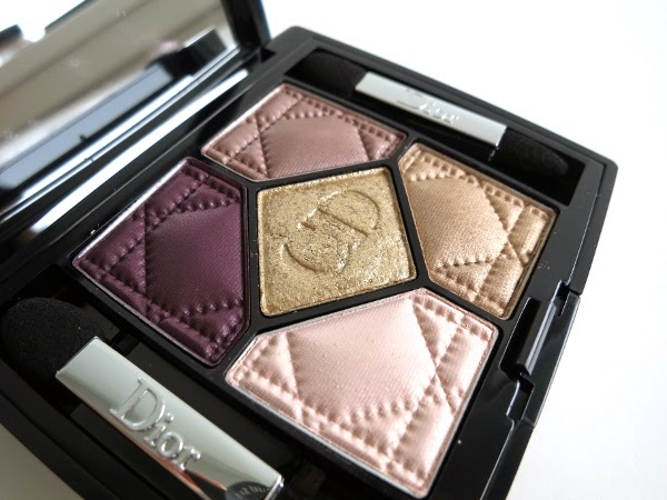 Dior 5 Couleurs eyeshadow palette 'Golden Shock'