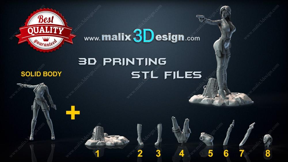 SET Avengers Infinity War - for 3D Printing
