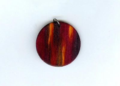 Shades of Red Pendant