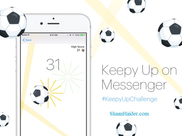 HOW TO : Enable and Play Hidden Soccer / Football Game in Facebook Messenger
