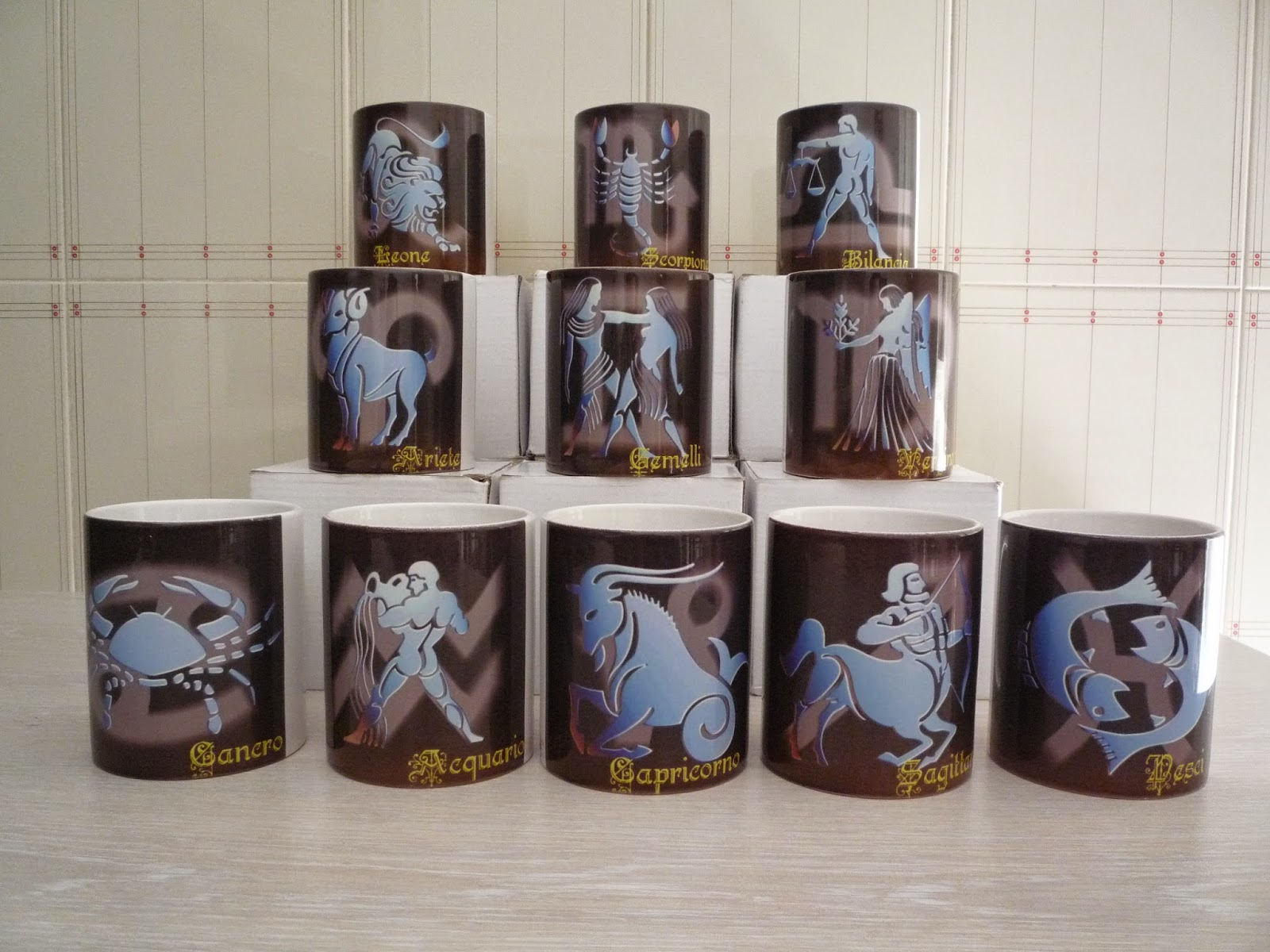 Stampa personalizzata: stampa su tazza con segno zodiacale