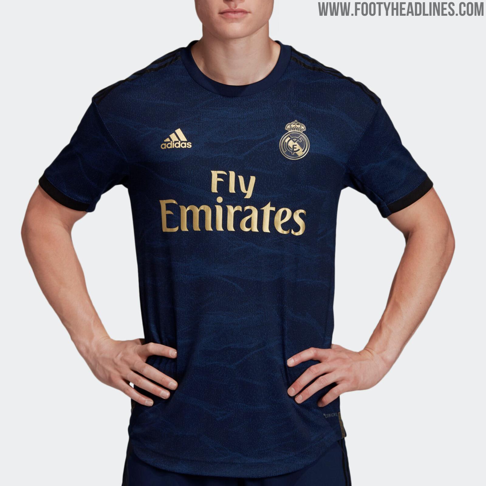 Real Madrid 19-20 Away Kit Released - Footy Headlines