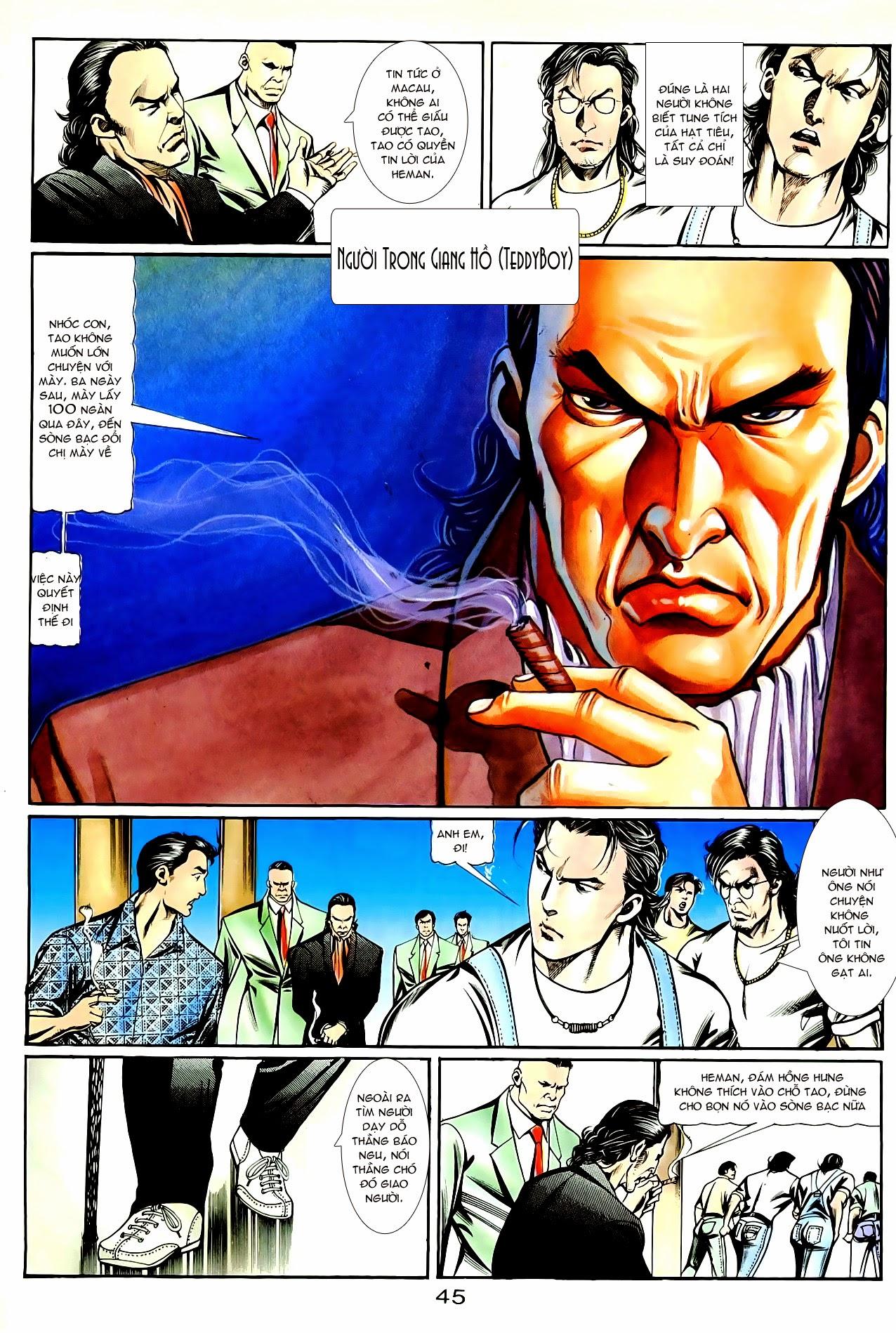 Người Trong Giang Hồ chapter 85: diệt môn trang 18