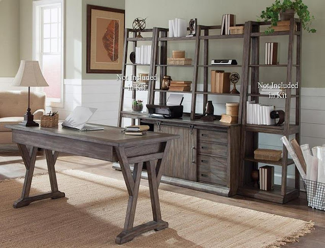 best rustic contemporary office furniture with decor and lighting ideas