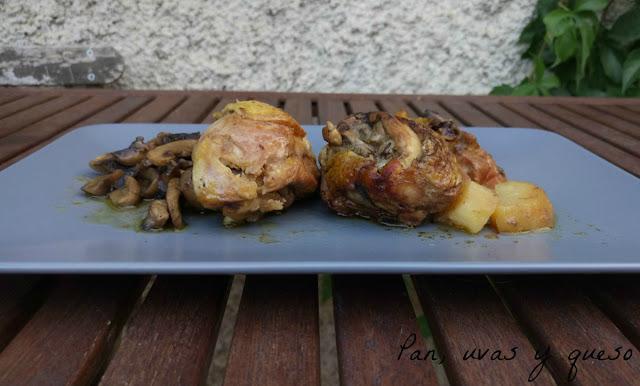Pollo al vermut (tradicional o Crock-Pot)