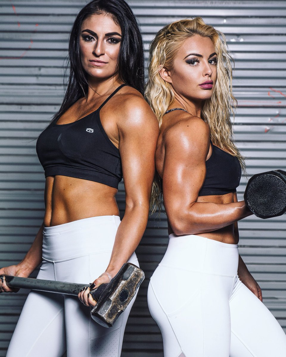 Sonya DeVille and Mandy Rose live together and do everything together