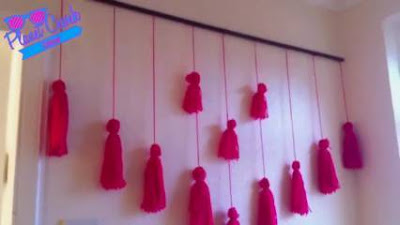 Cara Membuat Tirai dari Benang Wol