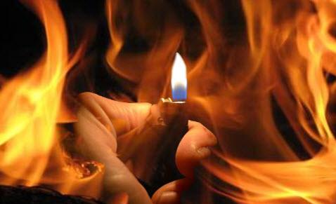 الحريق الذي اودى بحياة المرأة الحامل في جرمانا كان بفعل فاعل.؟
