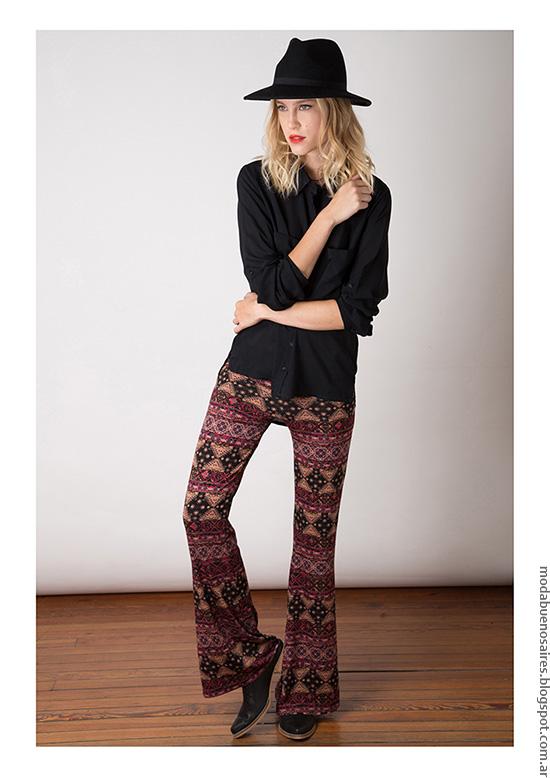 Pantalones oxford invierno 2016 Nuara.