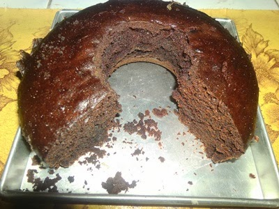 Cake Cokelat Kukus (Tanpa Mixer)
