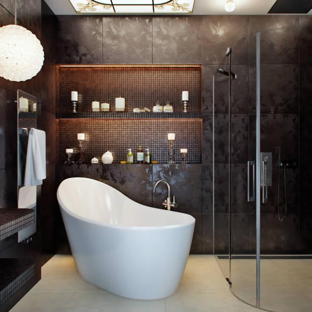 Idee per l 39 arredamento del bagno for Armadi per il bagno