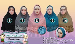 Jilbab instan aurelia modis dan murah
